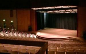 Goucher College Performance space
