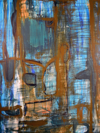 Cyan & Orange #2 by Damon Arhos, 2014