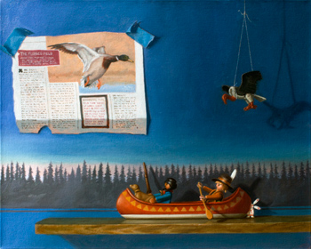 The Voyageurs by Nathan Loda; image courtesy the artist