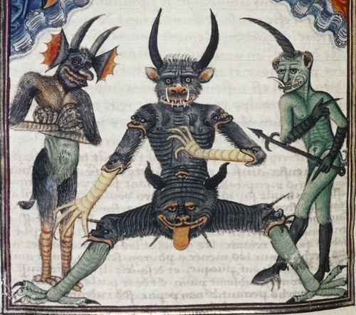 Lucifer_waiting_for_the_Last_Judgement_Livre_de_la_Vigne_nostre_Seigneur_f._067v_1450-1470